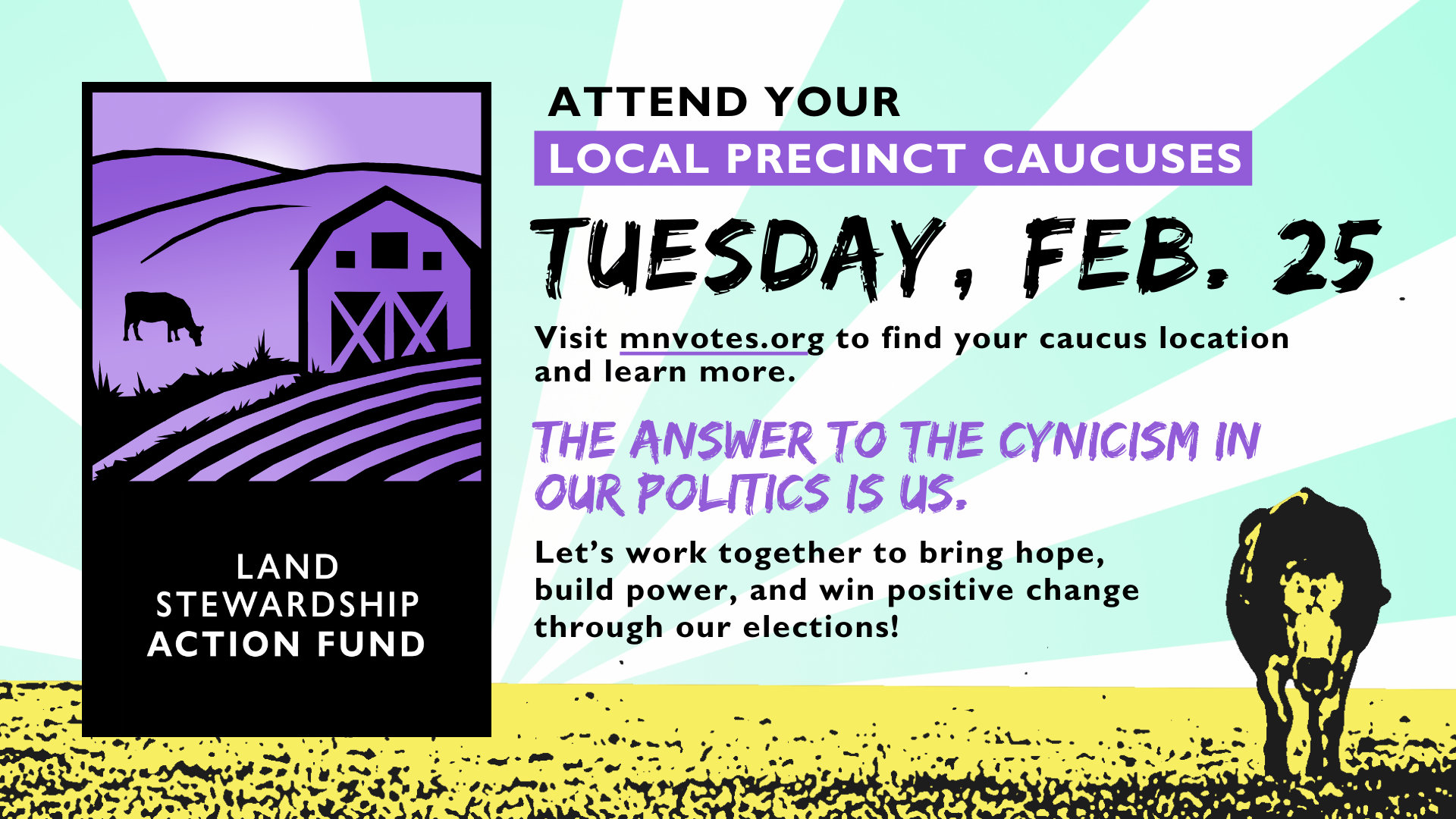 Caucus on Feb. 25!